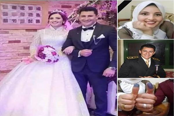 مصرع عروسين في الدقهلية