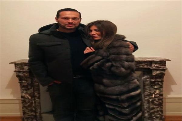 أول ظهور لطليق ياسمين عبد العزيز مع ريهام حجاج