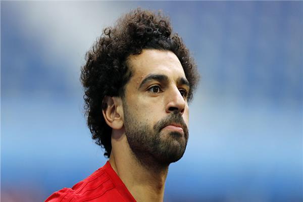 نجم ليفربول اللاعب محمد صلاح