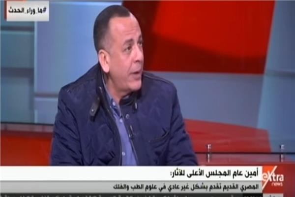 مصطفى وزيري أمين عام المجلس الأعلى للآثار