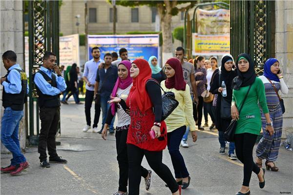 طلاب جامعة القاهرة - أرشيفية