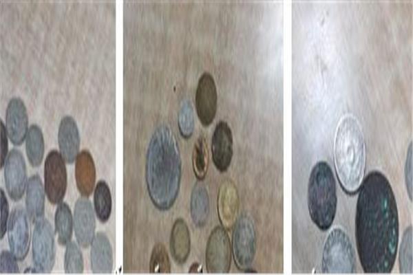 العملة المضبوطة