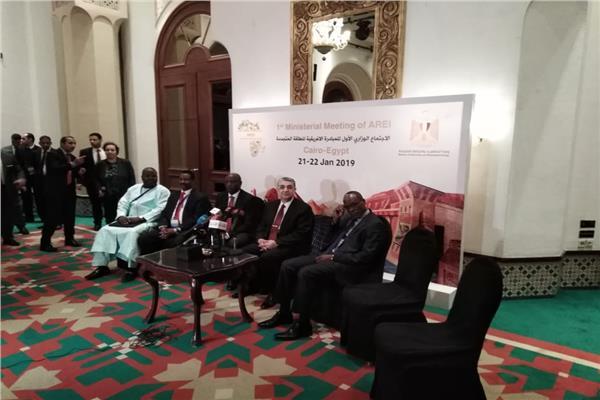 جانب من الاجتماع الوزاري للمبادرة الإفريقية