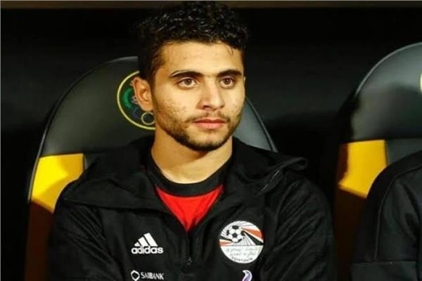 محمد محمود - لاعب وسط الأهلي