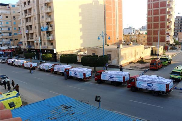 قافلة مستقبل وطن لمحافظة مرسى مطروح