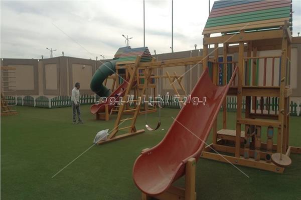 حديقة ألعاب للأطفال