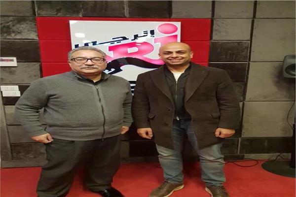 أحمد مراد وإبراهيم عيسي