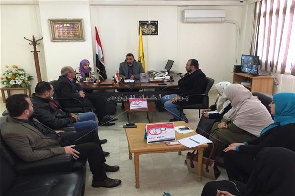 حلول جذرية للمعوقات التي تواجه القطاع الصحي بشمال سيناء