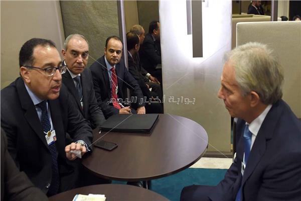 رئيس الوزراء وتوني بلير
