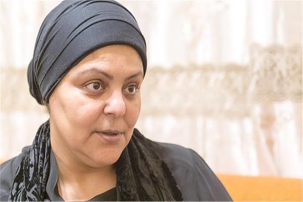 الدكتورة شيرين محمد عزازي أرملة الشهيد العميد ساطع النعمانى
