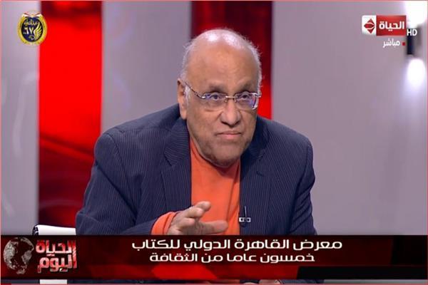 الكاتب والروائي يوسف القعيد