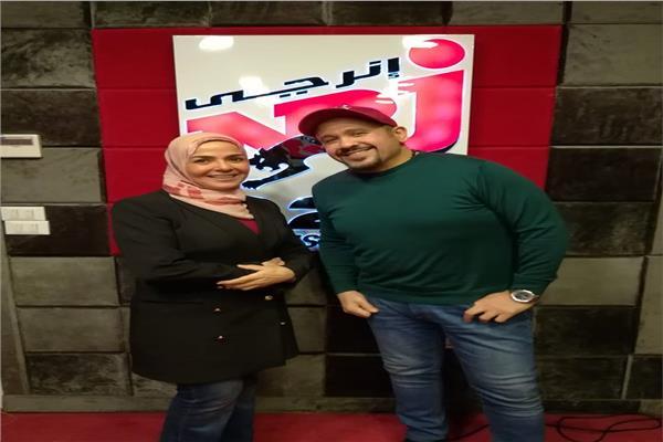 هشام عباس ومنى عبدالغني