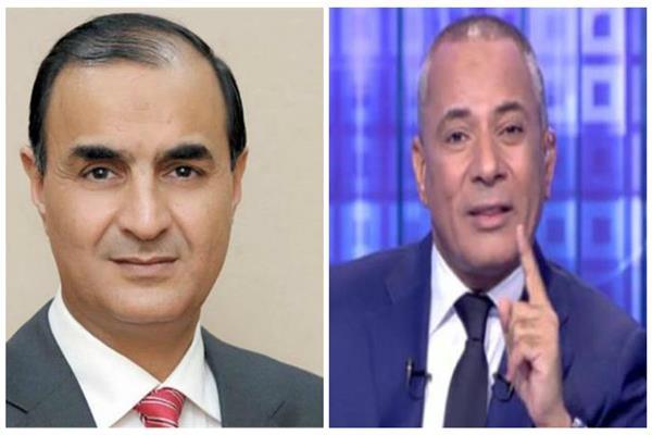 الإعلامي أحمد موسى والكاتب الصحفي محمد البهنساوي