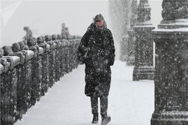 موجة من الطقس السيئ تجتاح روسيا