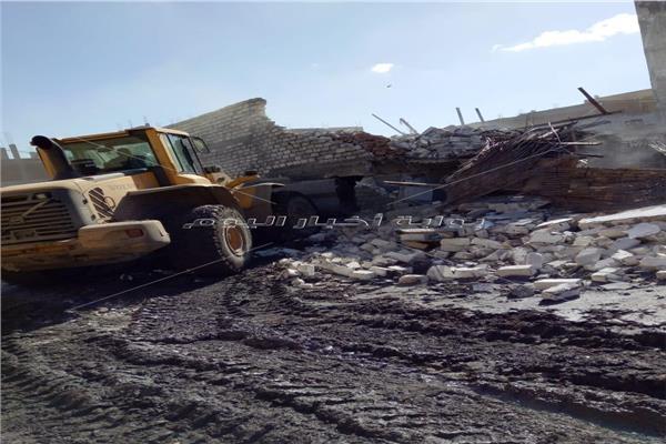 حلول فورية لمشاكل الصرف الصحي و مياه الشرب بنجع العرب بالإسكندرية