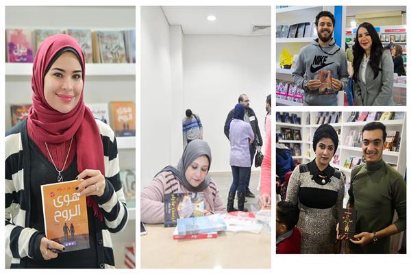 «الأشقر و سفاح جبل بكر » .. النساء يتربعن على عرش معرض الكتاب في 2019
