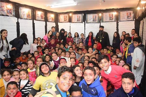 ١٥٠٠ طفل في كرنفال كوبتيكو لأطفال العاشر من رمضان