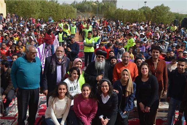 ٦٤٨٢ من الموهوبين المسيحيين والمسلمين في كرنڤال اكتشاف الموهوبين بالمنيا