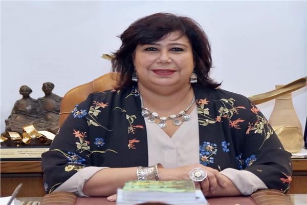 ايناس عبد الدايم وزير الثقافة