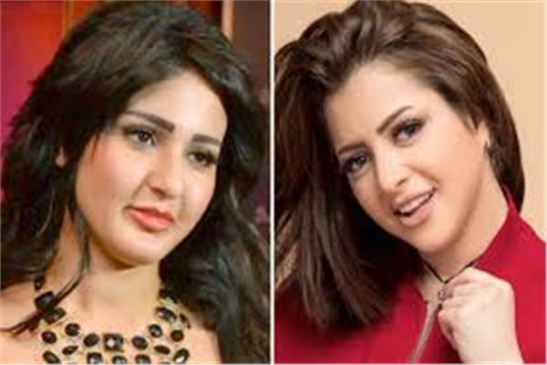 الفنانتين شيما الحاج ومنى فاروق