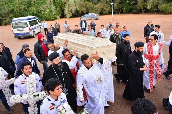وفاة كاهن كنيسة الجونة