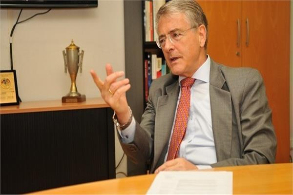 السفير الألماني بالقاهرة يوليوس جيورج لوي