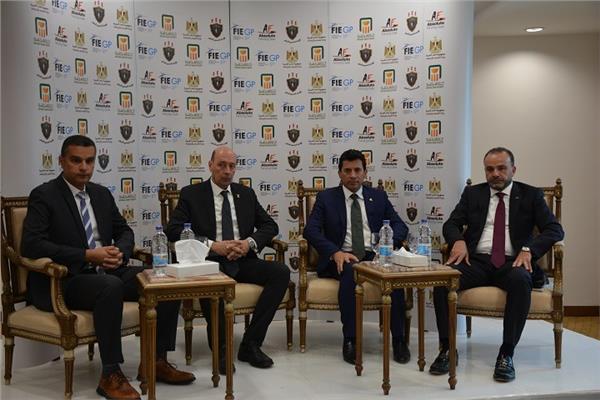 وزير الشباب والرياضة يشهد مؤتمر تدشين بطولة «الجائزة الكبرى للسلاح»