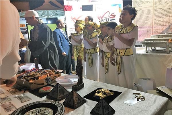 مصر تحصد المركز الأول كأفضل جناح في فعاليات يوم الثقافات العالمي بالرياض