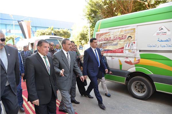 انطلاق قافلة حماية المستهلك من أسيوط بحضور المحافظ  ورئيس الجهاز