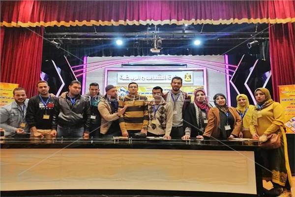 جامعة المنوفية تشارك في ملتقى الأسر والاتحادات الطلابية