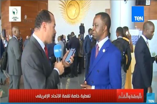 يروجيه ندودانج، رئيس البرلمان الأفريقي