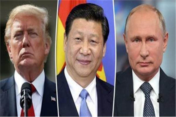 ترامب وبوتين والرئيس الصيني