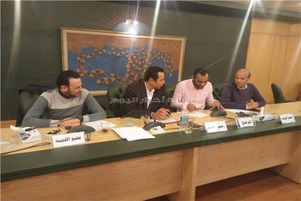محمود كامل يتقدم بأوراق ترشحه لانتخابات الصحفيين