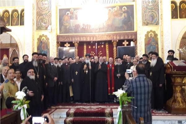 الأمين العام لمجلس كنائس مصر يشارك في أسبوع الصلاة من أجل الوحدة