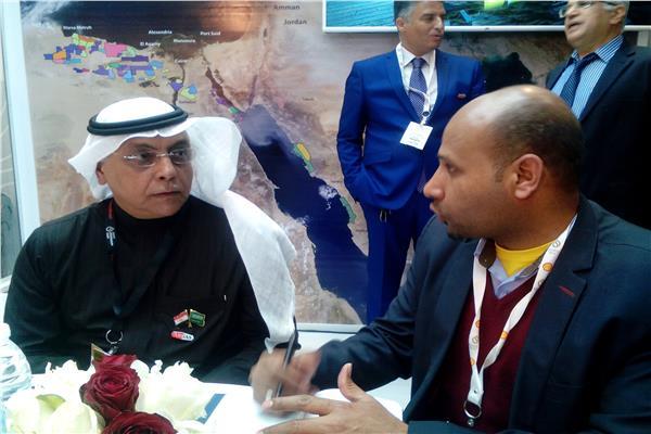 سعد العقيل مع محرر بوابة أخبار اليوم
