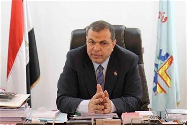 وزير القوى العاملة الدكتورمحمد سعفان