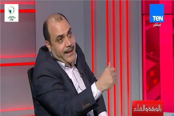 الدكتور والكاتب الصحفي محمد الباز