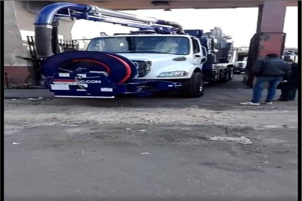 معدات شركة القاهرة للصرف