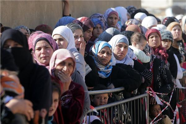 اللاجئات السوريات