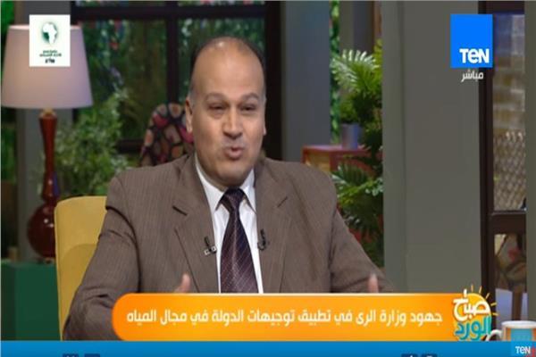 الدكتور يسري خفاجي المتحدث باسم وزارة الري