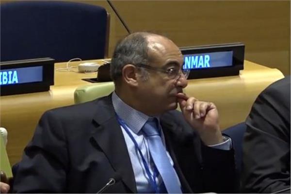 السفير محمد إدريس مندوب مصر الدائم فى الأمم المتحدة
