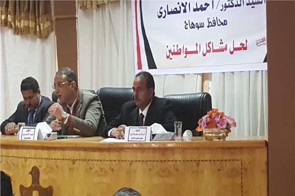 «أبوزهاد» يطالب محافظ سوهاج بافتتاح مستشفى جهينة المركزي