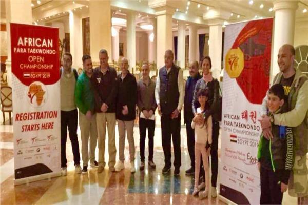 بدء وصول الوفود المشاركة في بطولة أفريقيا المفتوحة للتايكوندو