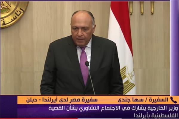 زيارة وزير الخارجية المصري سامح شكري إلى أيرلندا