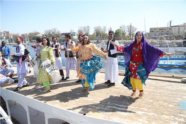 انطلاق فعاليات مهرجان أسوان للثقافة والفنون