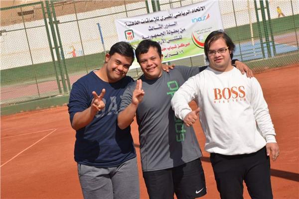 ختام الدور الثالث من بطولة التنس الأرضي للإعاقات الذهنية