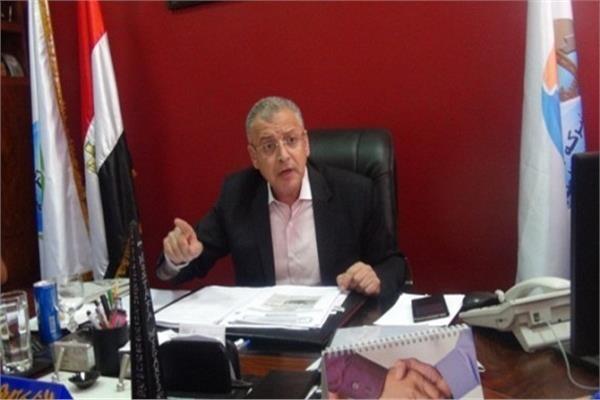 المهندس مصطفى مجاهد رئيس مجلس إدارة شركة مياه الشرب