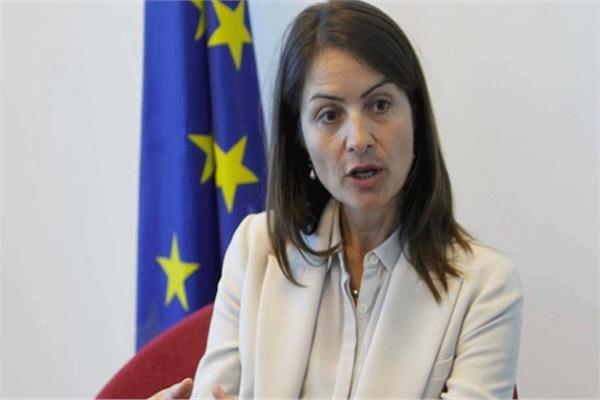 سفيرة الاتحاد الأوروبي في لبنان كريستينا لاسن