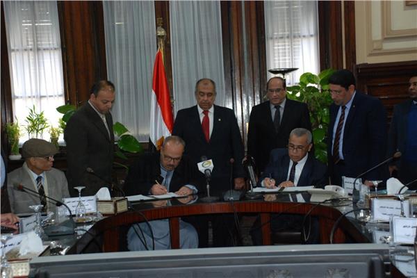 «أبوستيت» يشهد توقيع عدد من البروتوكولات التعاون لدعم منتفعي الإصلاح الزراعي