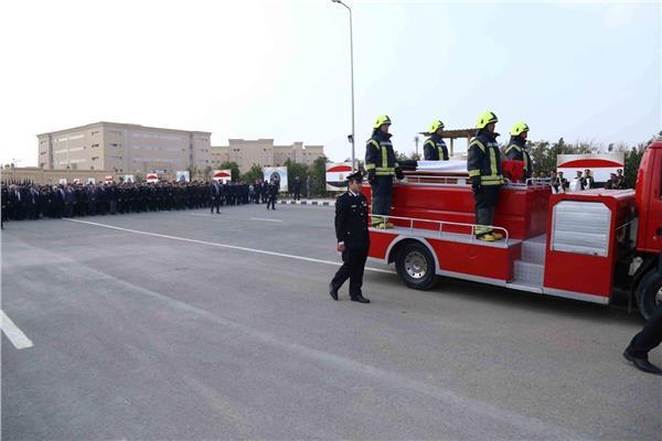 تشييع جنازة شهداء الدرب الأحمر